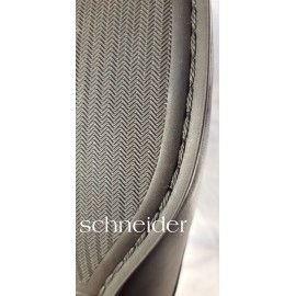 Schneider Excluisive Fekete Bőr cipő