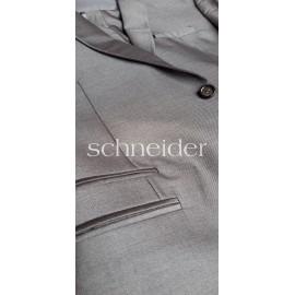 Schneider Excluisive Ezüst szürke slim öltöny