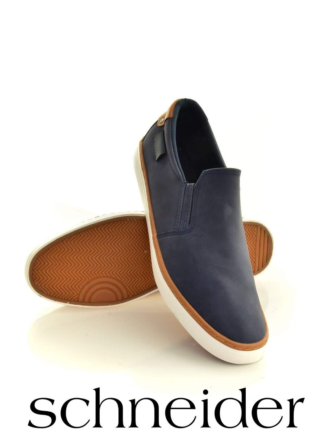 Kék sportos férfi cipő
